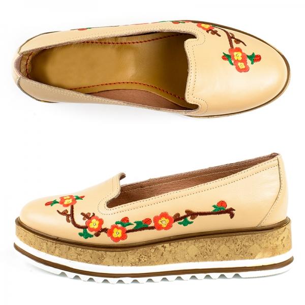 Pantofi Femei IRIS CREAM