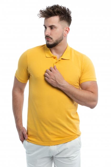 Tricou Polo Galben
