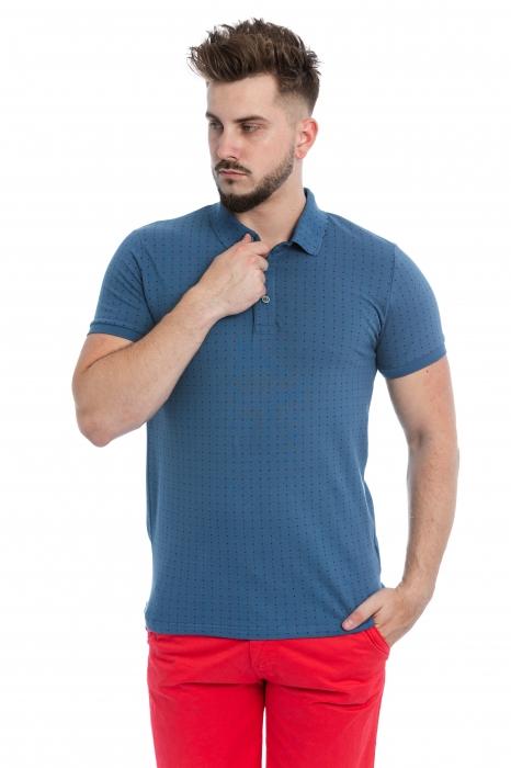 Tricou Polo Albastru Inchis